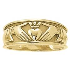 Women's Claddaugh ring
